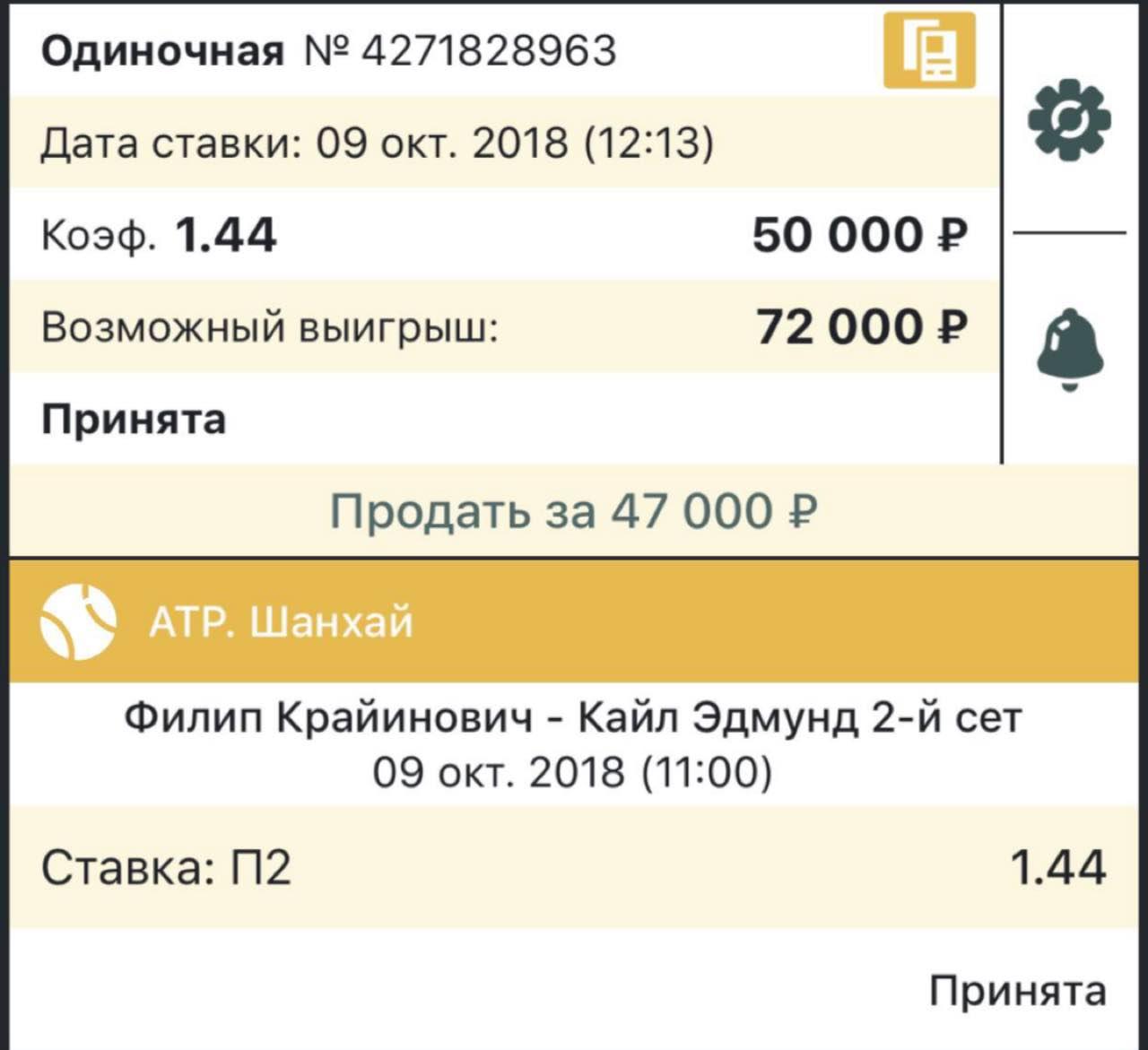 Ставки на матч Ферро – Векич, прогноз на теннис от 17.10.2018