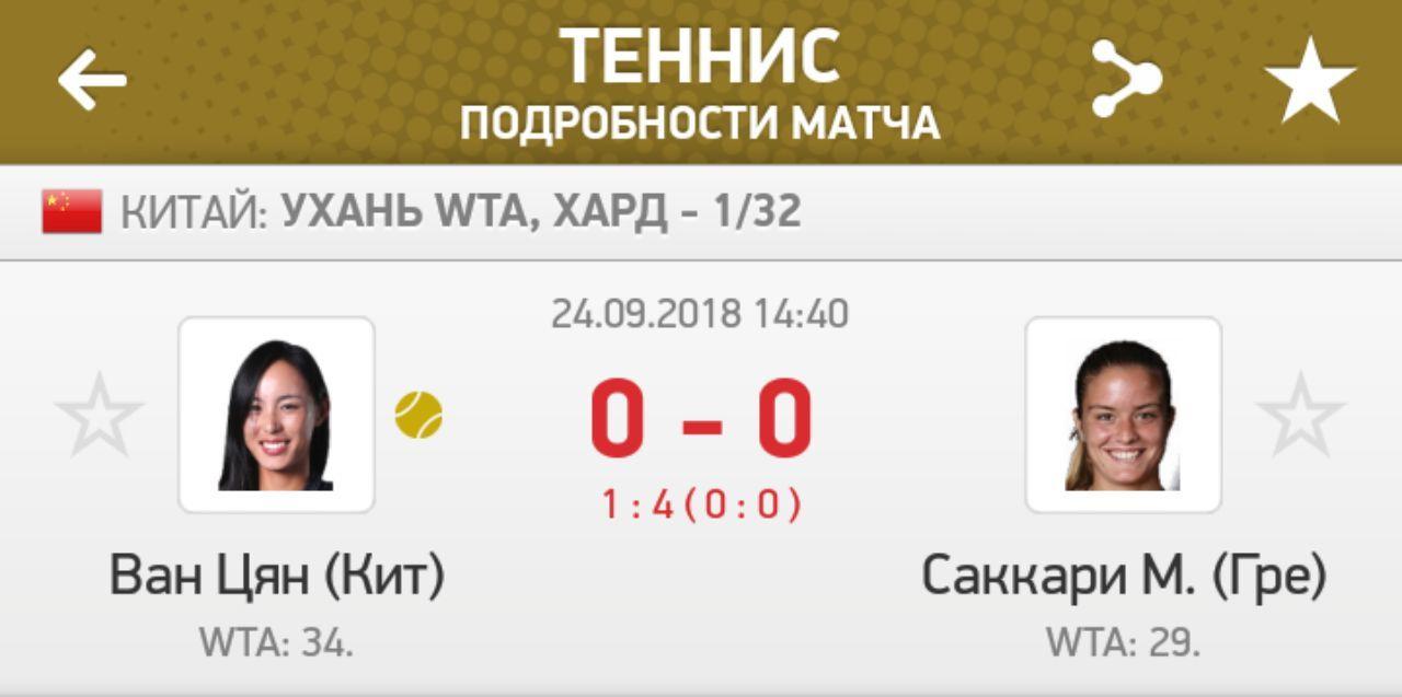 Ставки на матч Барти – Ван Цян, прогноз на теннис от 04.11.2018