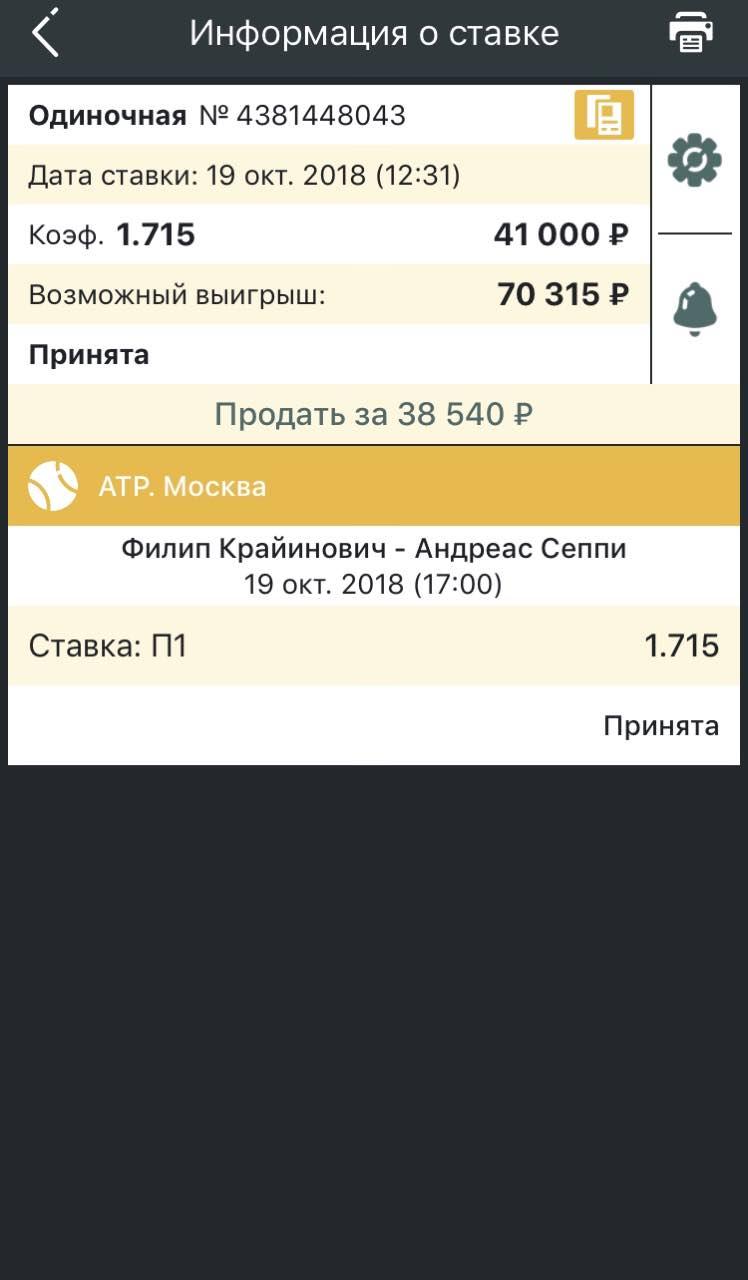 Ставки на матч Алби – Родина, прогноз на теннис от 08.11.2018